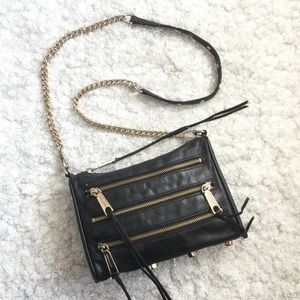 Authentic Rebecca Minkoff Leather Crossbody Bag